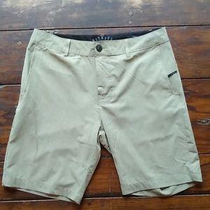 Nitrous Black Khaki Shorts